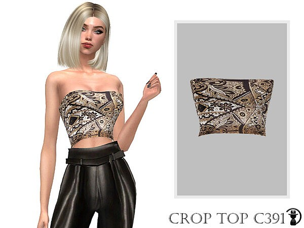 Crop Top C391 sims 4 cc