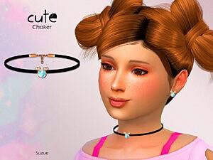 Cute Child Choker sims 4 cc