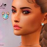 Cute Earrings sims 4 cc