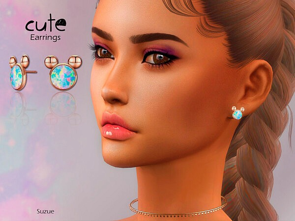 Cute Earrings sims 4 cc