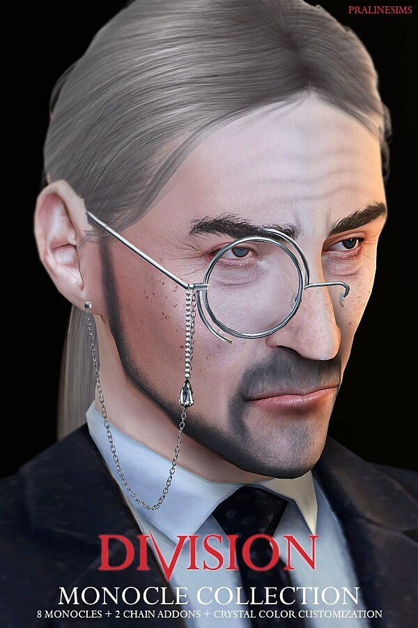 DIVISION Monocle Collection sims 4 cc
