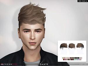 Dante Hair 143 sims 4 cc