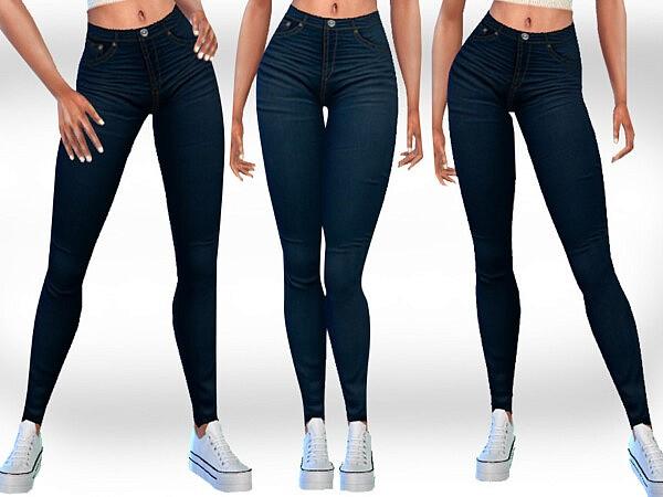 Dark Blue Jeans sims 4 cc