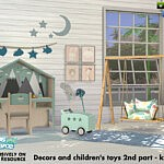 Decors and childrens toys 2nd part sims 4 cc
