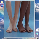 Default foot slider 2V sims 4 cc
