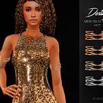 Destiny Arm Bracelets Set sims 4 cc