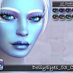 Dolly Eyes 53 sims 4 cc
