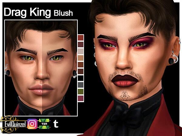 Drag King Blush sims 4 cc