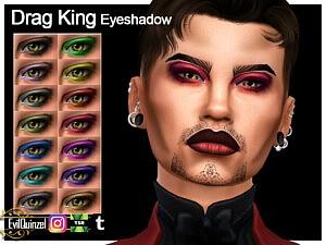 Drag King Eyeshadow sims 4 cc