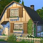 Dreamy Cottage sims 4 cc