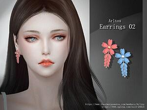 Earrings 2 sims 4 cc