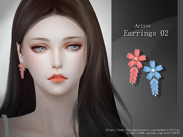 Earrings 2 by Arltos from TSR