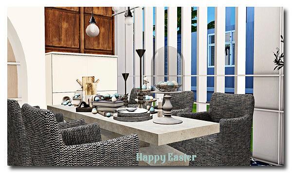 Easter decor sims 4 cc