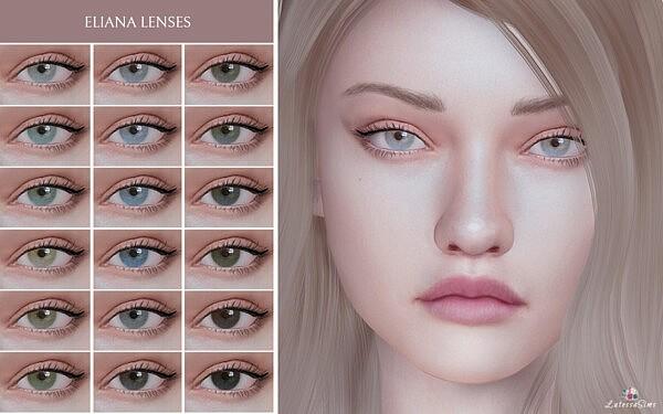 Eliana Lenses sims 4 cc
