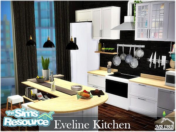 Eveline Kitchen sims 4 cc