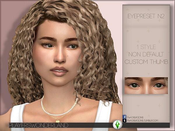 Eye Preset N2 sims 4 cc