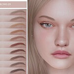 Eyebrows 05 sims 4 cc