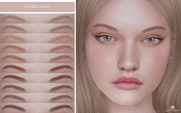 Eyebrows 05 sims 4 cc