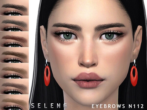 Eyebrows N112 sims 4 cc
