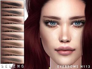Eyebrows N113 sims 4 cc