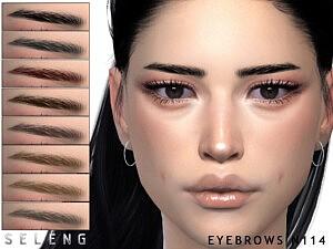 Eyebrows N114 sims 4 cc