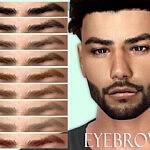 Eyebrows N72 sims 4 cc