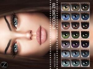 Eyecolor Z19 sims 4 cc