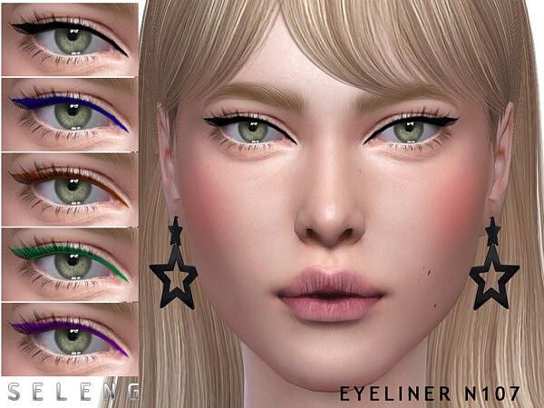 Eyeliner N107 by Seleng from TSR