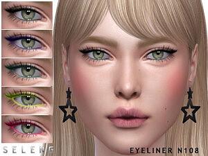 Eyeliner N108 sims 4 cc