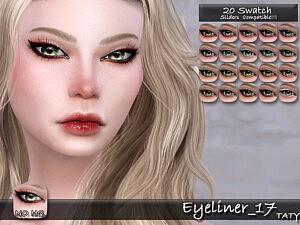 Eyeliner 17 sims 4 cc