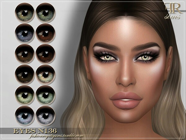 Eyes N136 sims 4 cc