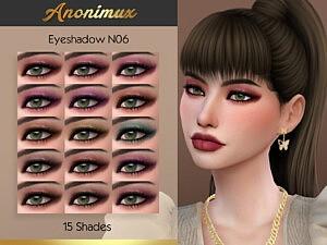 Eyeshadow N06 sims 4 cc
