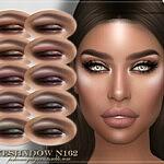 Eyeshadow N162 sims 4 cc