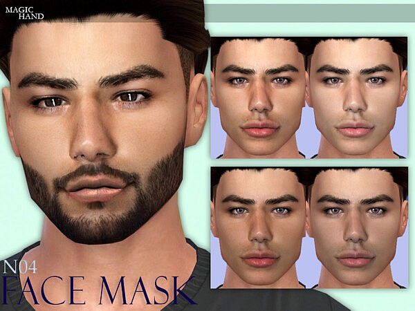 Face Mask N04 sims 4 cc