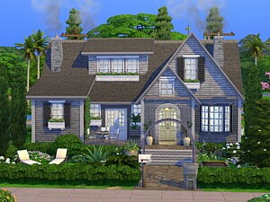 Family Cottage sims 4 cc