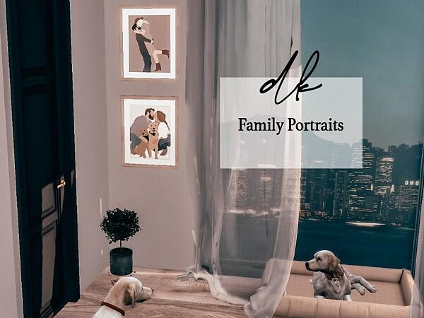 Family Portraits sims 4 cc