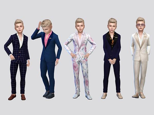 Fancy Boys Suit sims 4 cc