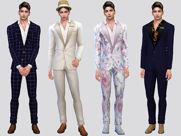 Fancy Men Suit sims 4 cc1