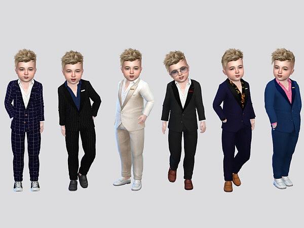 Fancy Toddler Suit sims 4 cc