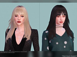 Female Hair G44 sims 4 cc