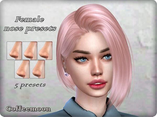 Female nose presets sims 4 cc
