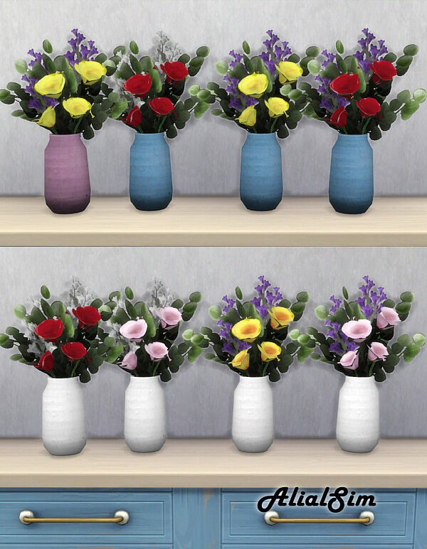 Flower sims 4 cc
