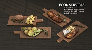 Food Services sims 4 cc