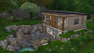 Forest ecologist house sims 4 cc