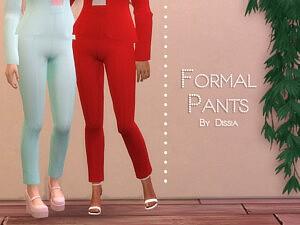 Formal Pants sims 4 cc
