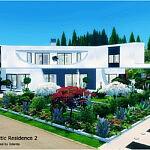 Futuristic Residence 2 sims 4 cc