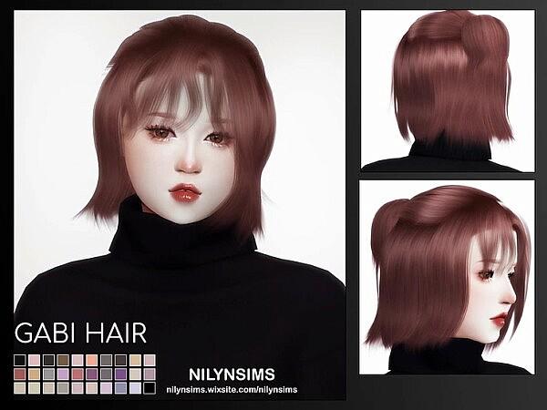 GABI HAIR sims 4 cc