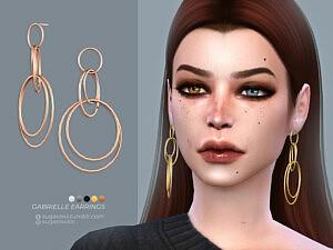 Gabrielle earrings sims 4 cc