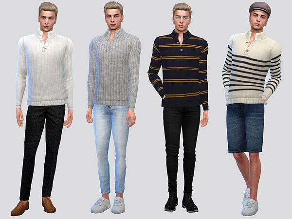George High Collar Sweater by McLayneSims from TSR