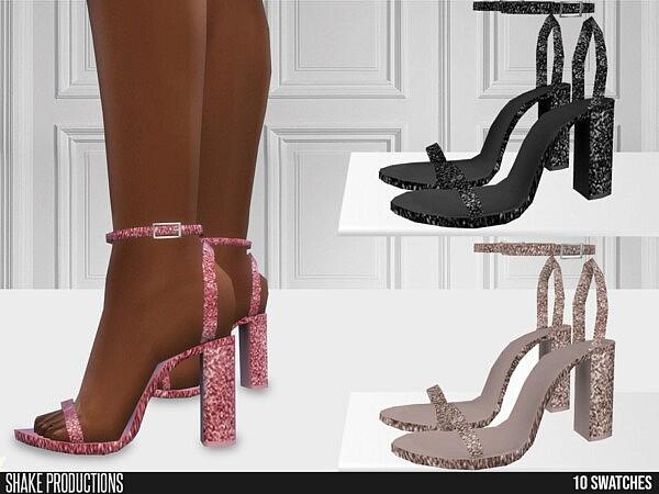 Glitter High Heels sims 4 cc